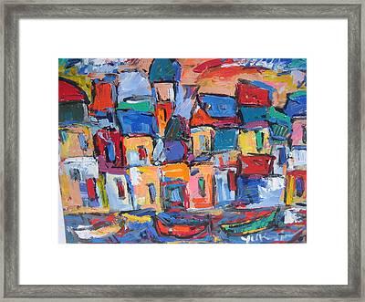 Amalfi 06 Framed Print by Len Yurovsky
