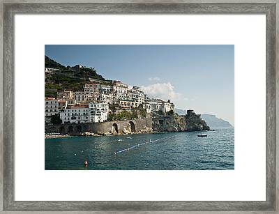Amalfi Point Framed Print by Jim Chamberlain