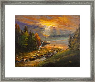 Amazing Grace Framed Print by Anne Skillman