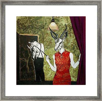 Ambushed Framed Print by Stephanie Heendrickxen