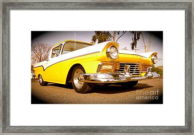 American Attitude Framed Print by Customikes Fun Photography and Film Aka K Mikael Wallin