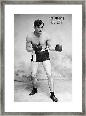 American Boxer, C1912 Framed Print by Granger