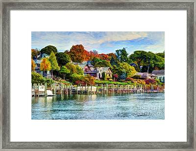 American Castle Framed Print by Michael Garyet