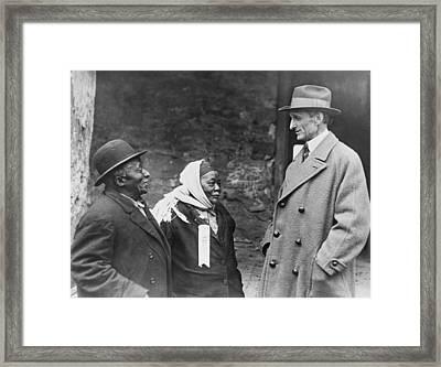 American Democratic Politician, William Framed Print by Everett
