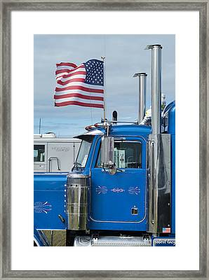 American Muscle Framed Print by Robert Lacy