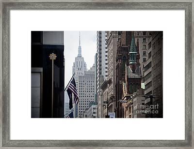 Americana Framed Print by Steven Gray