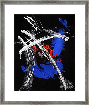 Americus Framed Print by Helen Betz