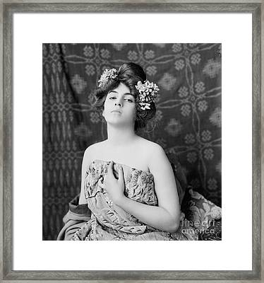 Amorita 1900 Framed Print by Padre Art
