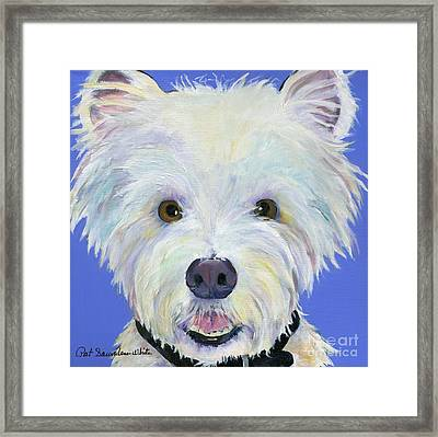 Amos Framed Print by Pat Saunders-White