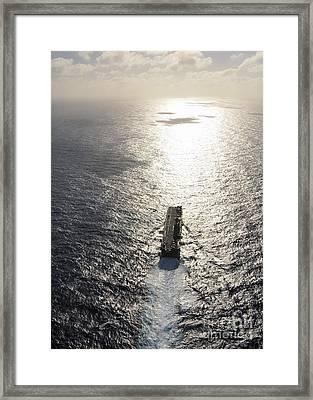 Amphibious Assault Ship Uss Boxer Framed Print by Stocktrek Images