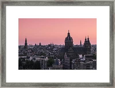 Amsterdam 02 Framed Print by Tom Uhlenberg