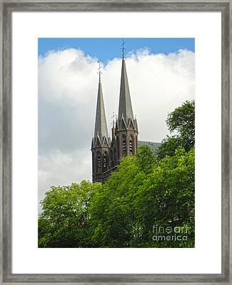 Amsterdam De Krijtberg Church Framed Print by Gregory Dyer