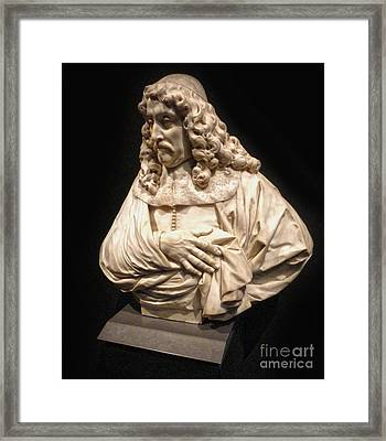 Amsterdam Rijksmuseum Classic Bust - 01 Framed Print by Gregory Dyer