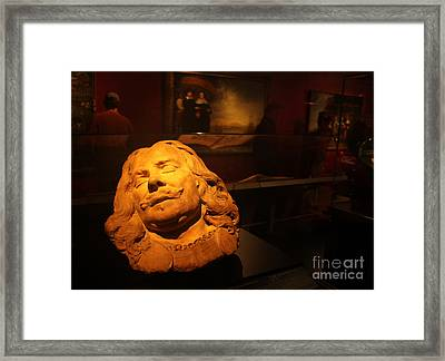 Amsterdam Rijksmuseum Statue Framed Print by Gregory Dyer