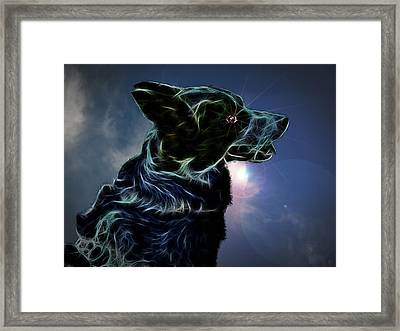 Amy Framed Print by Nafets Nuarb