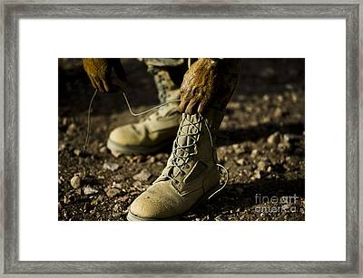 An Air Force Basic Military Training Framed Print by Stocktrek Images