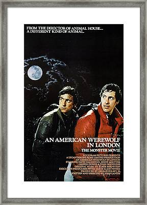An American Werewolf In London, Griffin Framed Print by Everett
