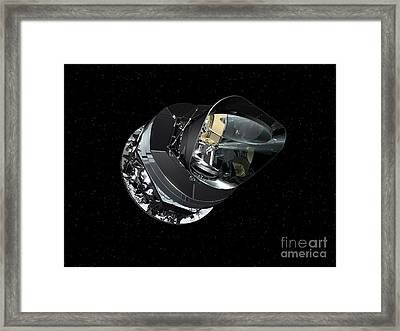 An Artists Concept Of The Planck Framed Print by Stocktrek Images