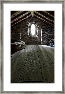 Ancient Attic Framed Print by Peter Chilelli