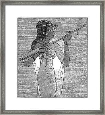 Ancient Egypt: Music Framed Print by Granger