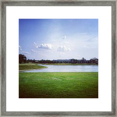 #andrography #nexuss #nature #clouds Framed Print by Kel Hill