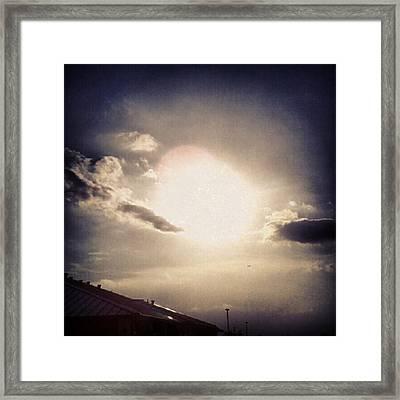 #andrography #nexuss #random #sun Framed Print by Kel Hill