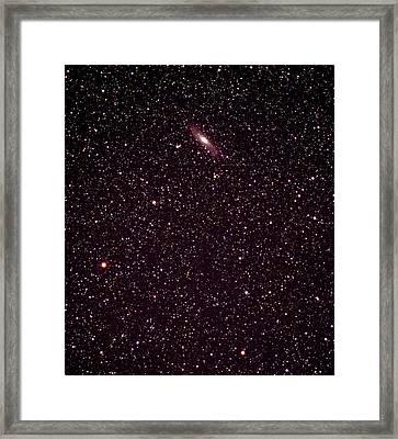 Andromeda Galaxy Framed Print by John Sanford