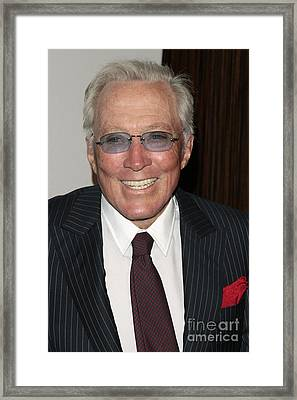 Andy Williams Framed Print by Nina Prommer