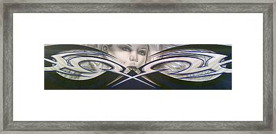 Angel Eyes Framed Print by Mike Royal
