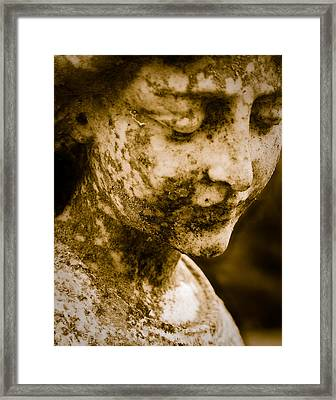 Angel Face Framed Print by Sonja Quintero
