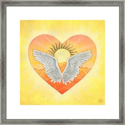 Angel Framed Print by Lisa Kretchman