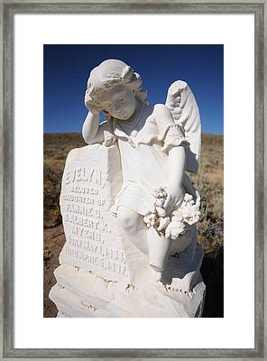 Angel Of Bodie Framed Print by Earl Bowser