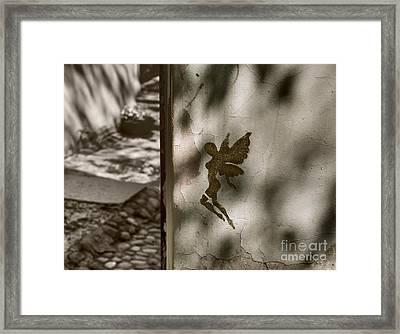 Angel Of Tallinn Framed Print by Ari Salmela