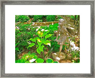 Angel Of The Morning Framed Print by Randy Rosenberger