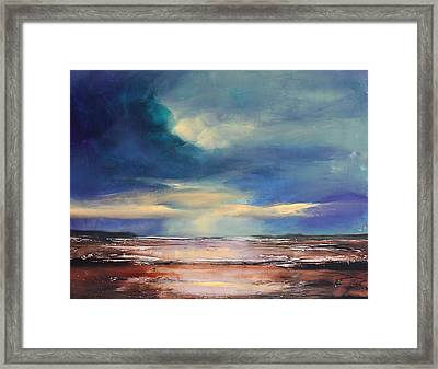 Angel Sky Framed Print by Toni Grote