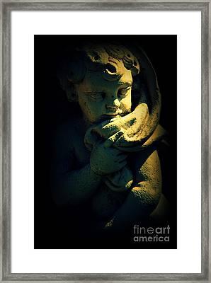Angela Framed Print by Susanne Van Hulst