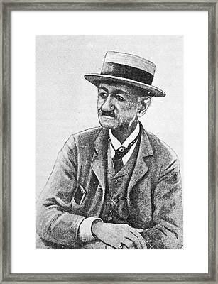 Angelo Dubini, Italian Physician, Artwork Framed Print by