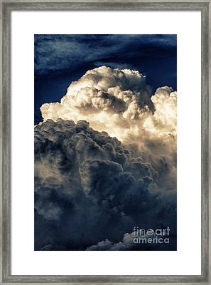 Angels And Demons Framed Print by Syed Aqueel