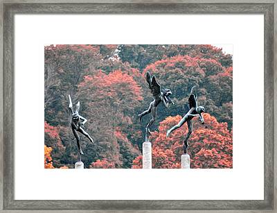 Angels Framed Print by Bill Cannon