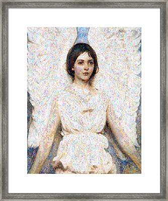 Angels In Our Midst Framed Print by Georgiana Romanovna