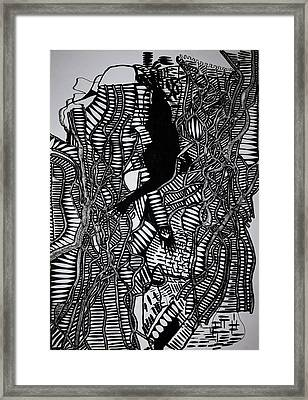 Angels Kiss Framed Print by Gloria Ssali