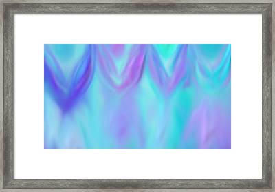 Angels Walking Framed Print by Rosana Ortiz