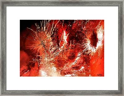 Anger Framed Print by Kristin Elmquist