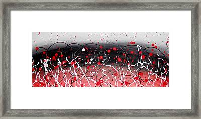Anger Management Framed Print by Edwin Alverio