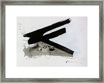 Anger Number Two Framed Print by Mark M  Mellon