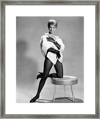 Angie Dickinson, Ca. Early 1960s Framed Print by Everett