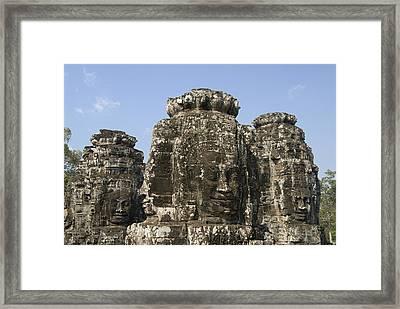 Angkor Thom IIi Framed Print by Gloria & Richard Maschmeyer