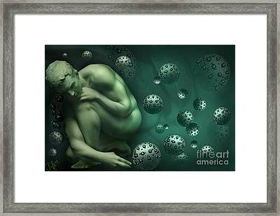 Animus Breathing Viriditas Framed Print by Rosa Cobos