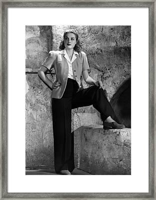 Ann Sheridan, Warner Brothers Portrait Framed Print by Everett