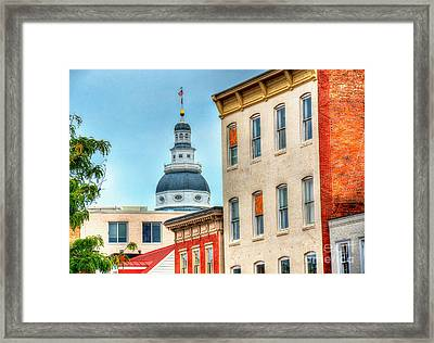 Annapolis Duomo Framed Print by Debbi Granruth